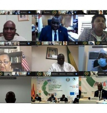 Les ministres de l'agriculture de la Cedeao adoptent la Déclaration d'Accra por-tant opérationnalisation des réserves stratégiques de sécurité alimentaire en Afrique de l'Ouest