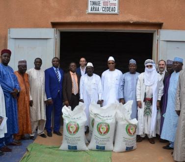 La CEDEAO exprime sa solidarité au Niger à travers la remise de produits vivriers