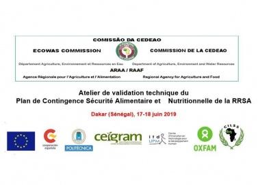 Atelier de validation technique du plan de contingence de la RRSA