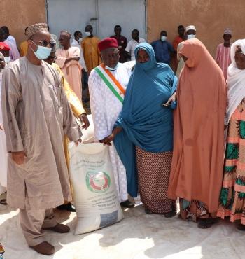 Situation alimentaire et nutritionnelle difficile des ménages les plus vulnérables : la Cedeao met à la disposition du Gouvernement nigé-rien 7598 tonnes de céréales et 205 tonnes de farines enrichies