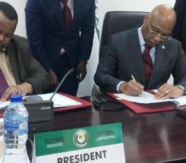 La Cedeao signe une convention avec la BIDC pour opérationnaliser le fonds régional pour l'agriculture et l'alimentation