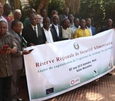 Les acteurs de la Région discutent de l'opérationnalisation de la Réserve Régionale de Sécurité Alimentaire