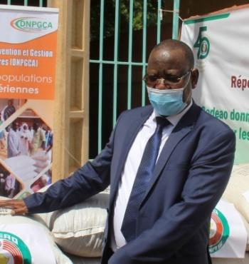 Réponse à la Covid-19 : la Cedeao donne des vivres au Burkina Faso et au Niger