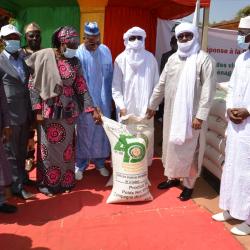 Lutte contre la Covid-19 en Afrique de l'Ouest : la Cedeao exprime sa solidarité au Mali à travers des dons de vivres pour les ménages les plus vulnérables